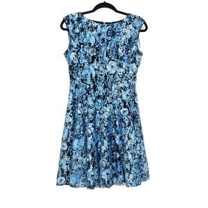 Danny and Nicole Dress Lace Fit-Flare Dress  8P
